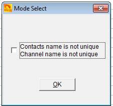 Mode Select image