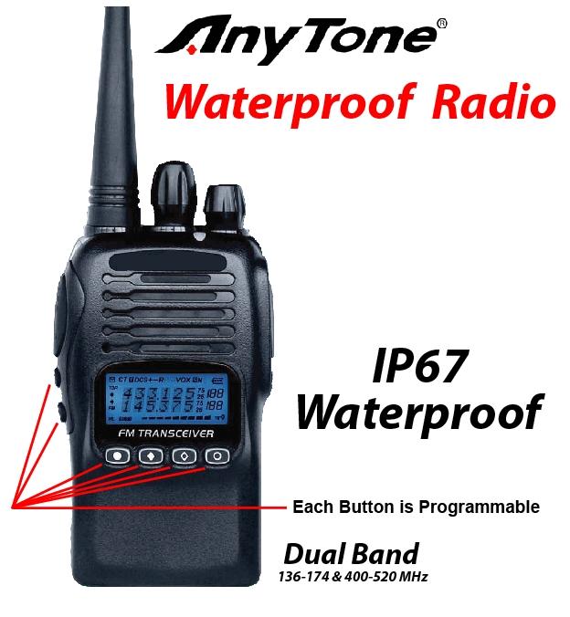 Anytone Waterproof Radio
