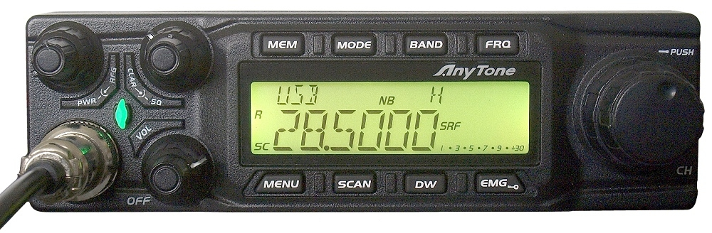 Anytone All-Mode 10 Meter Mobile